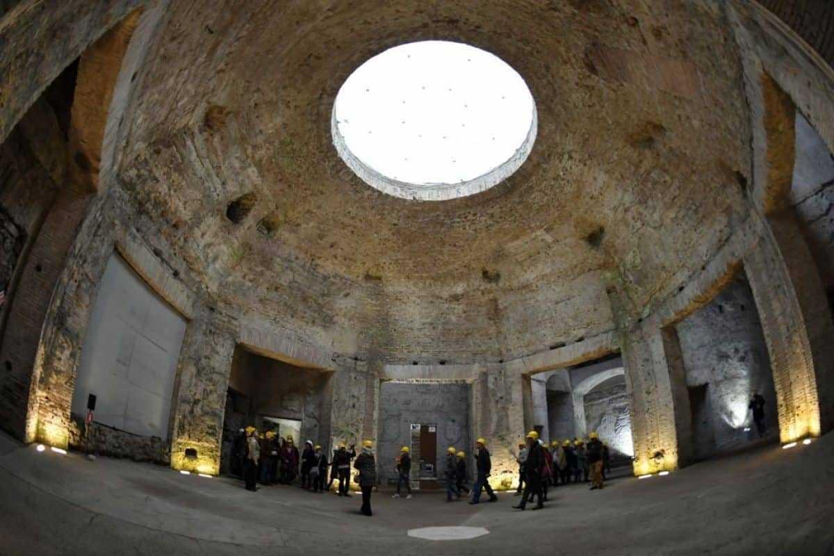 , Domus Aurea: restoration and virtual reality, Rome Guides