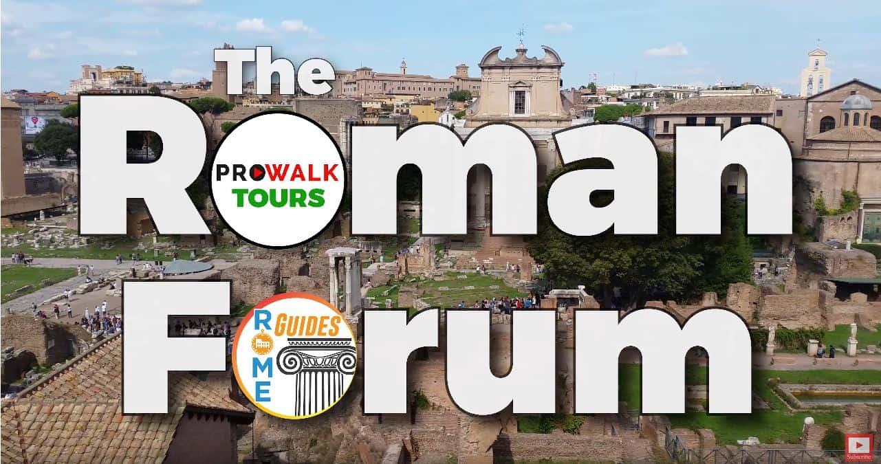 Visita guiada virtual del Foro Romano - Rome Guides y Pro Walks, Visita guiada virtual del Foro Romano, Rome Guides