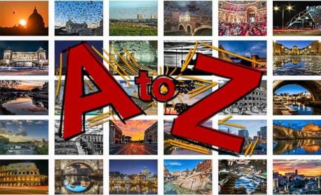 Roma dalla A alla Z