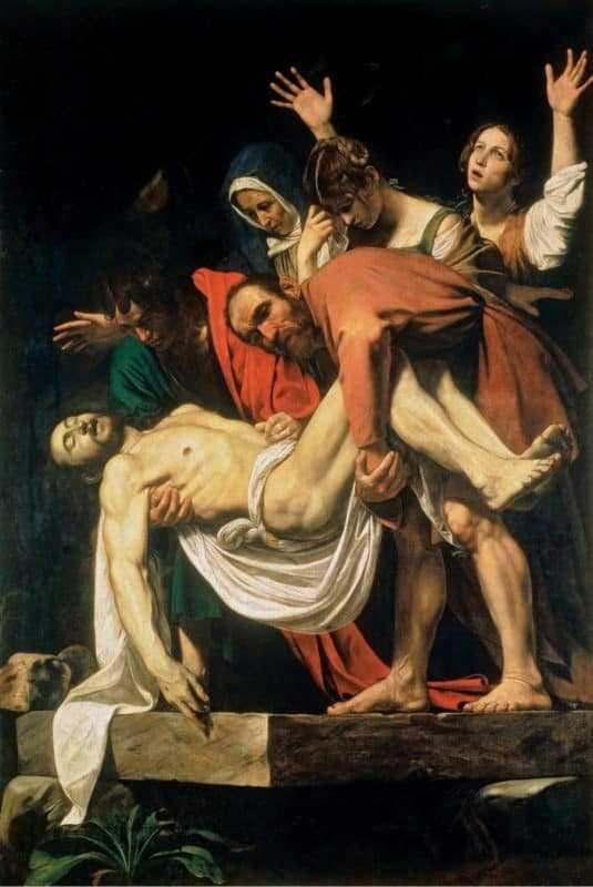La Deposizione di Caravaggio, La Deposizione di Caravaggio, Rome Guides