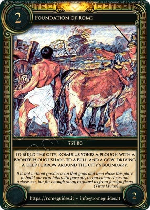 Ubi Maior Rome Card Foundation of Rome, Ubi Maior – Card 02, Rome Guides