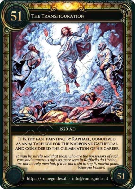 Ubi Maior Rome Card Transfiguration, Ubi Maior – Card 51, Rome Guides