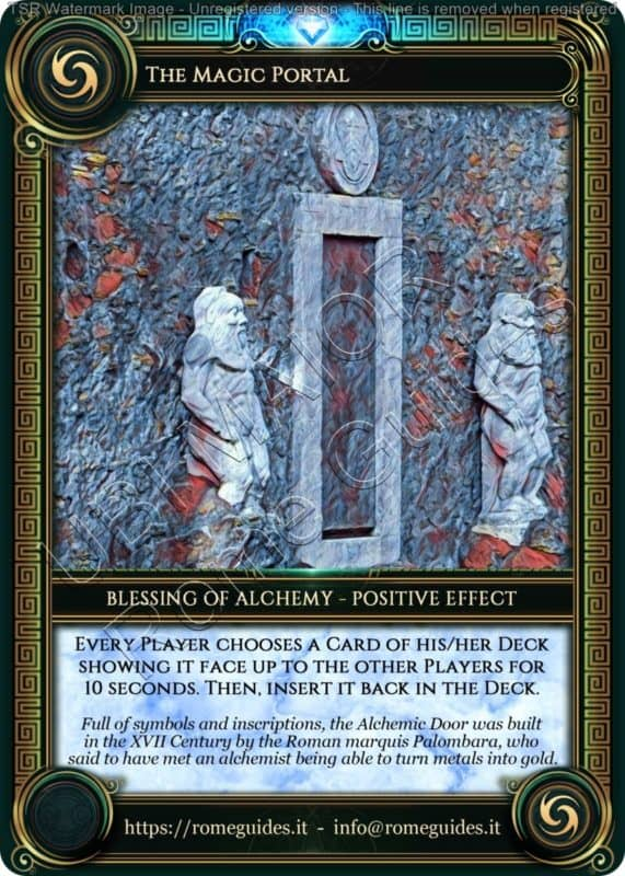 Ubi Maior Blessing Card Magic Portal, Ubi Maior – Blessing Card 12, Rome Guides