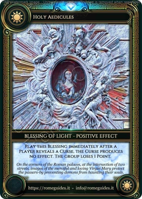 Ubi Maior Blessing Card Holy Aedicules, Ubi Maior – Blessing Card 13, Rome Guides