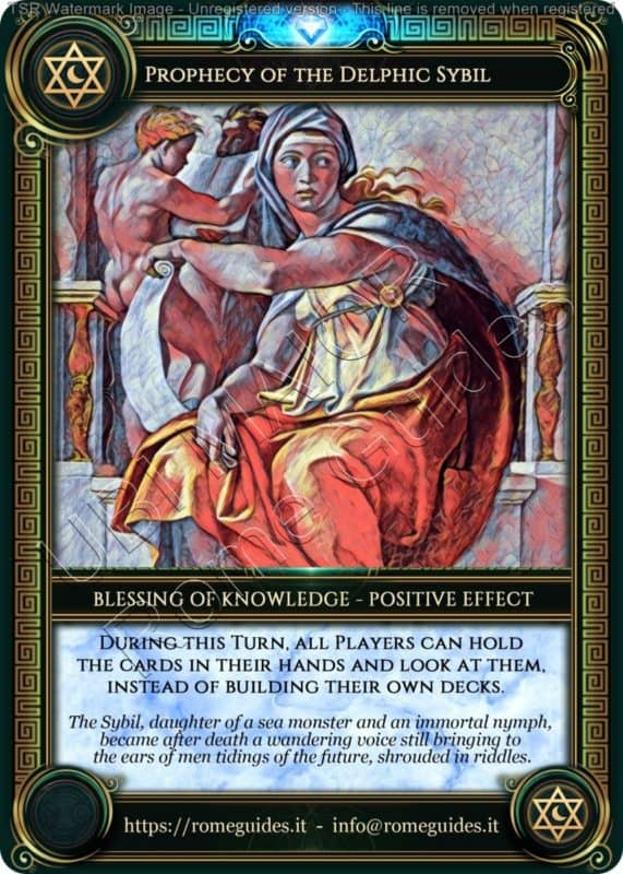 , Ubi Maior – Blessing Card 02, Rome Guides
