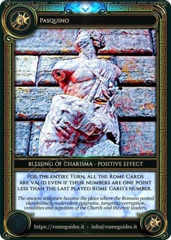 Ubi Maior Blessing Card Pasquino, Ubi Maior – Blessing Card 08, Rome Guides