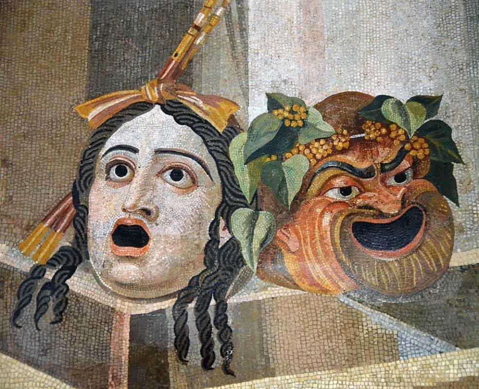 mosaico-maschere-teatrali-terme-deciane