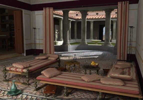 casa antica roma