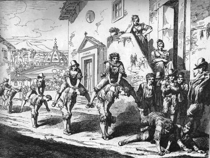 I giochi a Roma ai tempi del Belli, I giochi a Roma ai tempi del Belli, Rome Guides