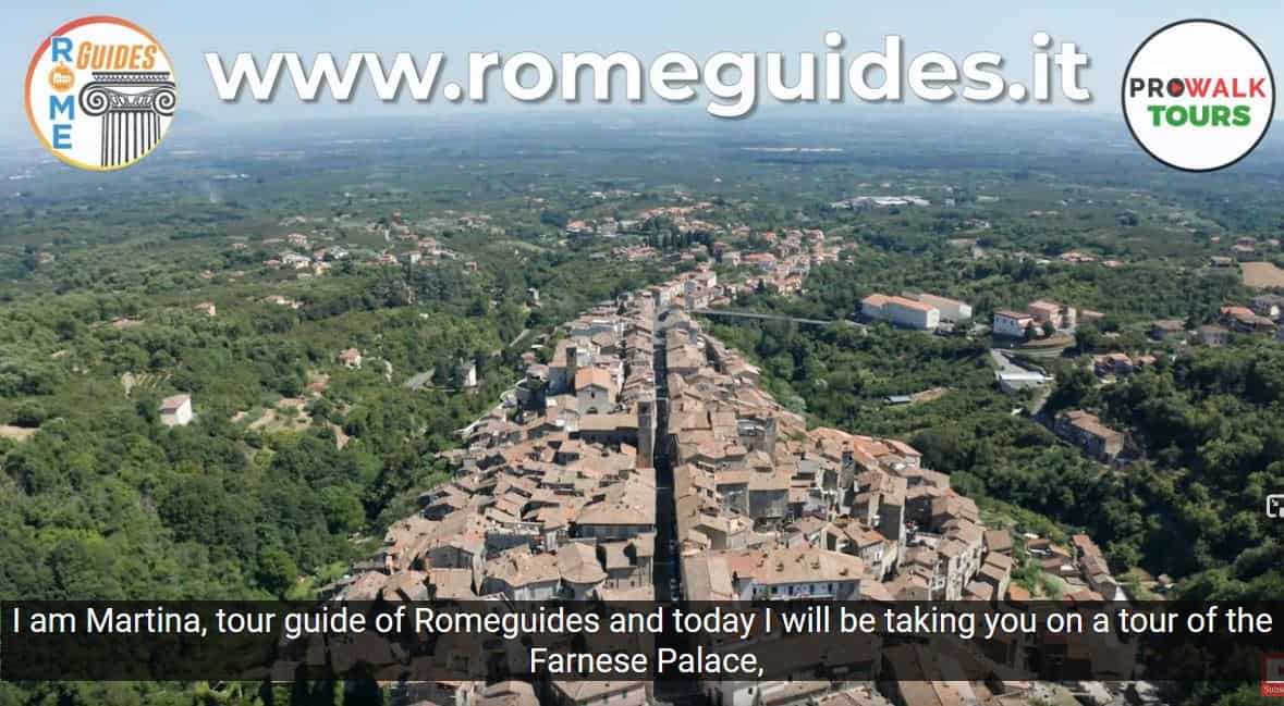 Rome Guides and Pro Walks - Virtual Tour of the Farnese Palace in Caprarola, Farnese Palace in Caprarola Virtual Tour, Rome Guides