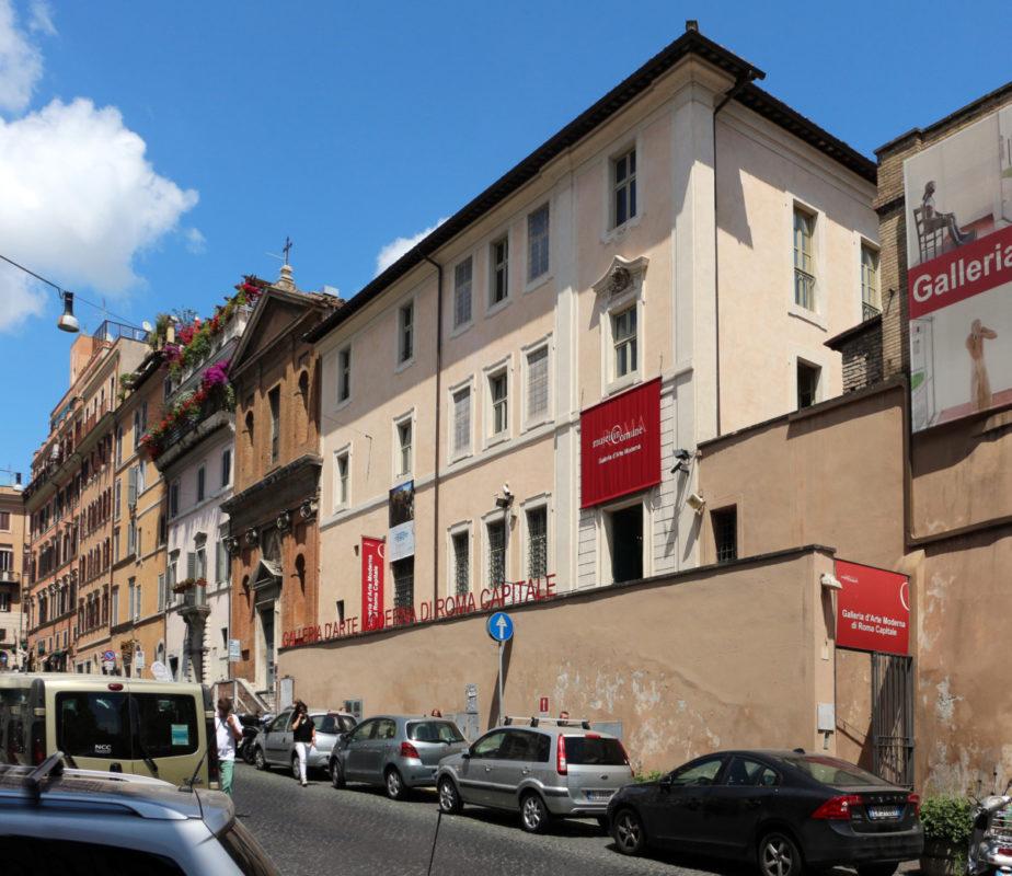 Galleria Comunale di Arte Moderna di Roma, La Galleria Comunale di Arte Moderna di Roma, Rome Guides