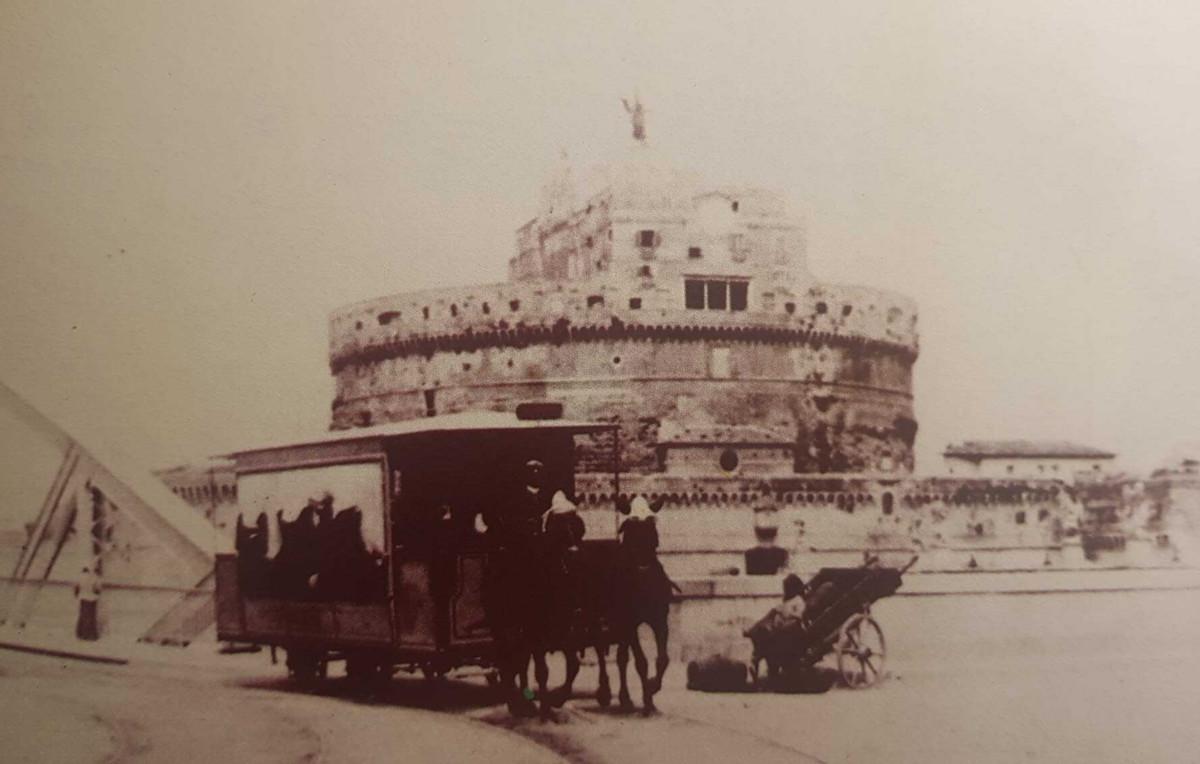 Omnibus e tram a cavalli a Roma, Omnibus e tram a cavalli a Roma, Rome Guides